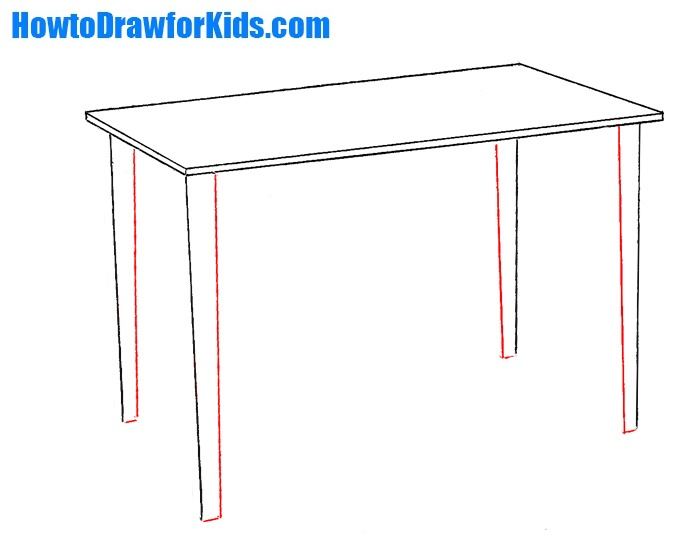 drawing table design