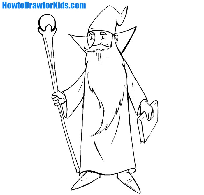 wizard drawing