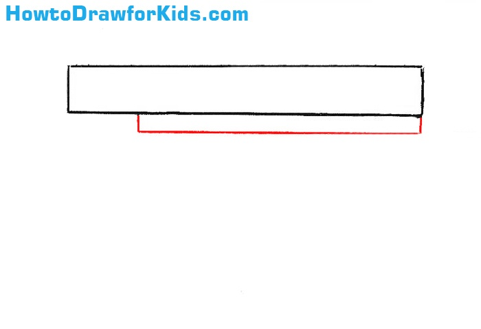 learn How to Draw a Gun for Kids