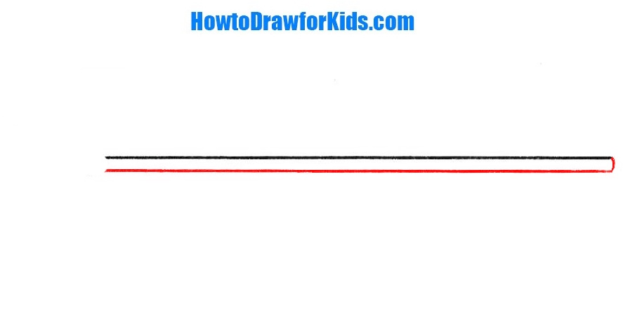 learn to draw a spear for kids