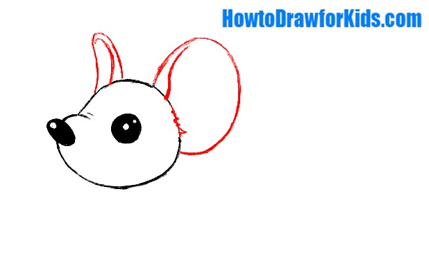 learn how to draw a mouse for beginners