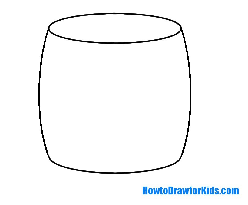 draw a barrel