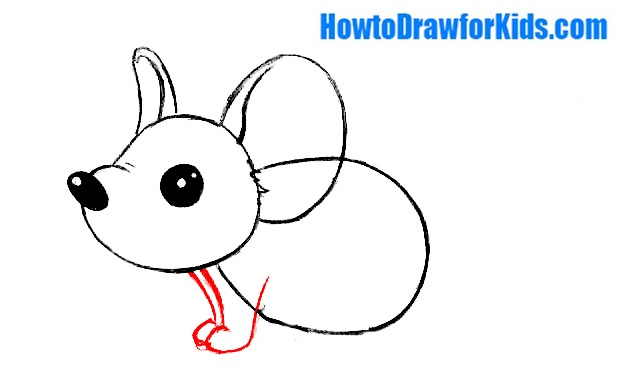 mouse drawing for beginners