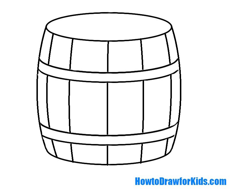 barrel drawing