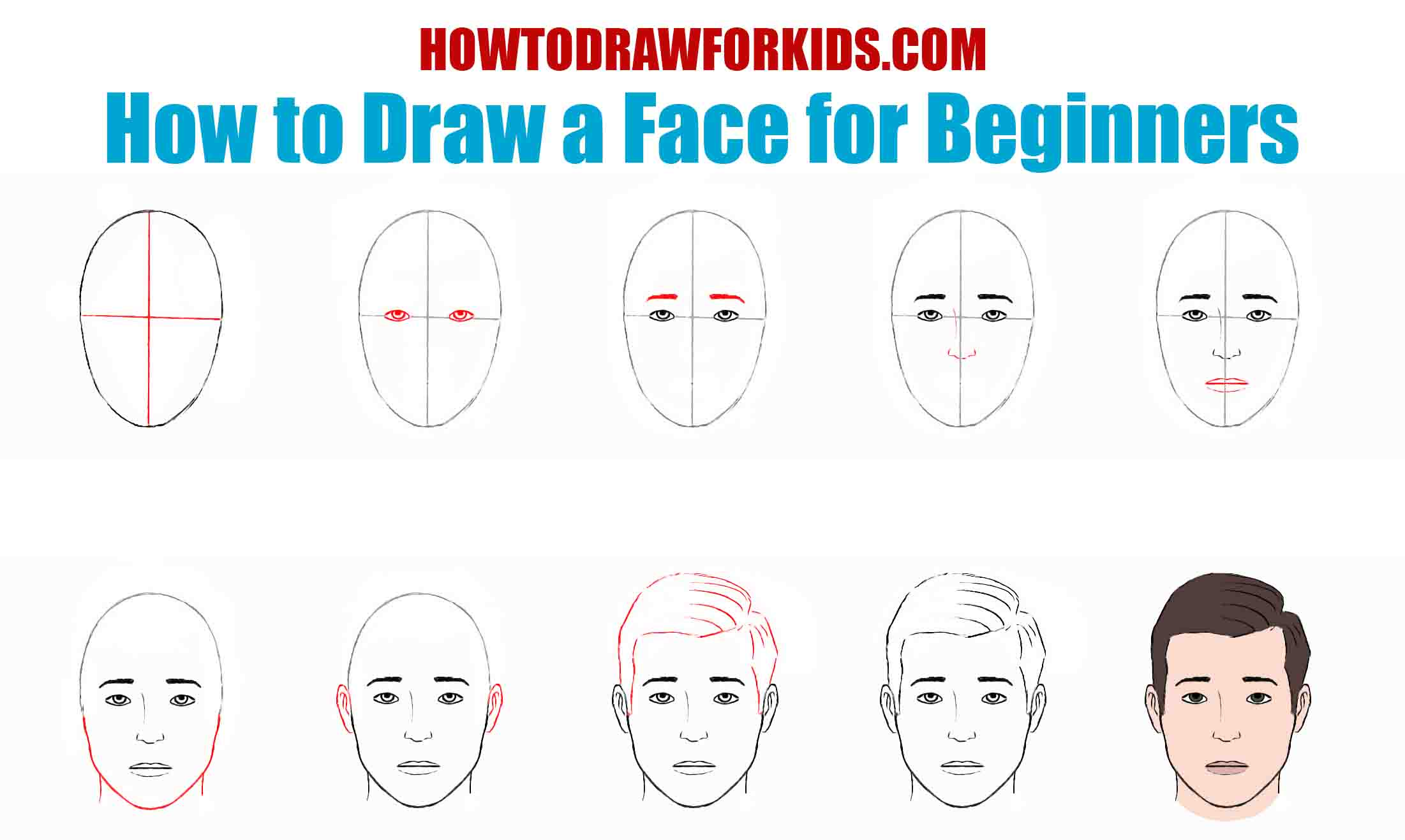 How to Draw a Face for Beginners