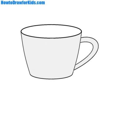 How to Draw a Cup for Kids