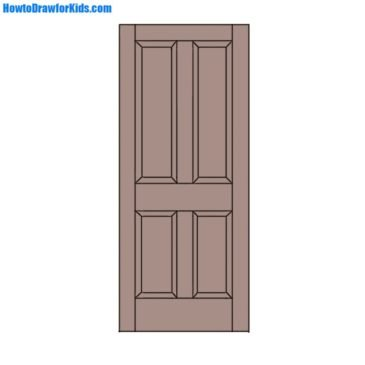 How to Draw a Door for Beginners