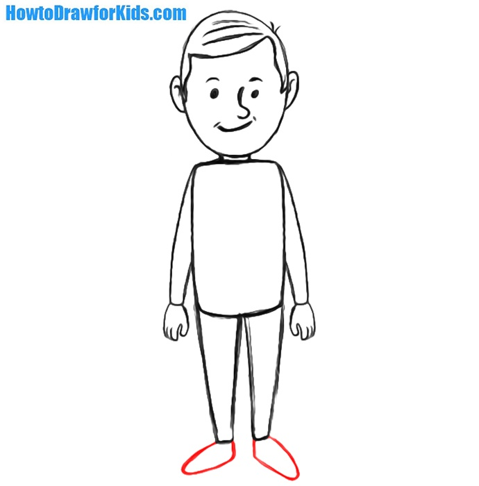 How To Draw A Person For Kids