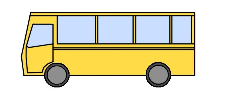 how to draw a bus for kids howtodrawforkidscom