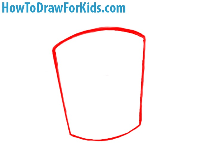 how to draw a Crusader Helmet for kids