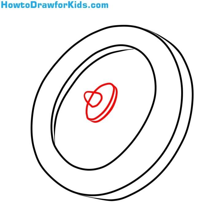 learn How to Draw a Shield for Kids step by step