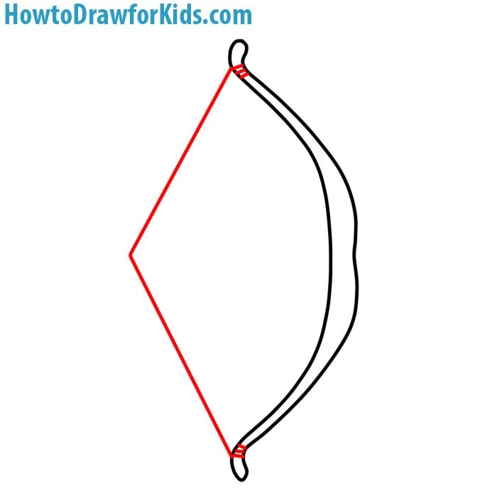 learn to Draw a Bow and Arrow