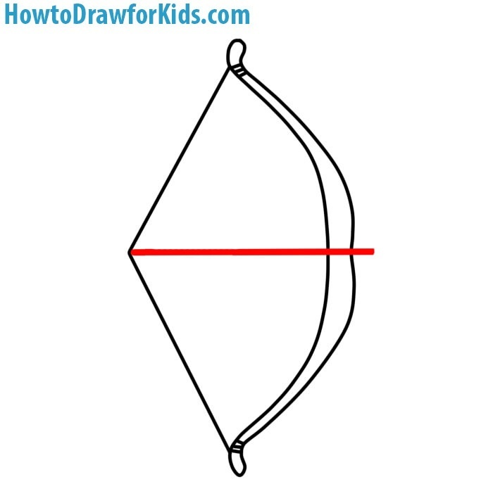 How to Draw a Bow for kids