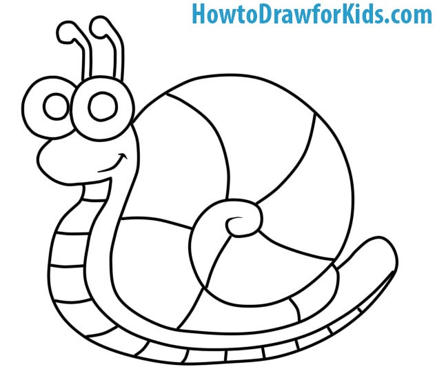 Snail drawing