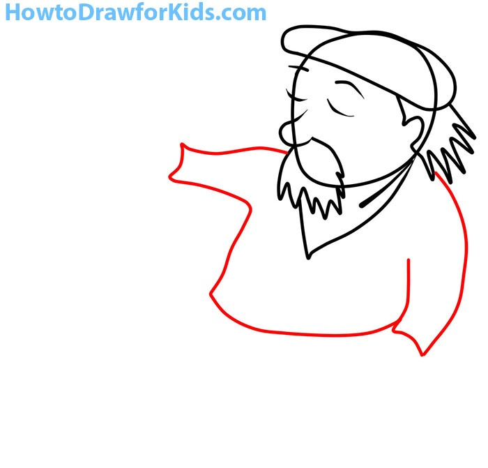 how to draw an artist for children