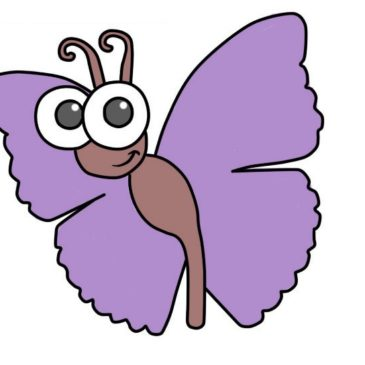 How to Draw a Butterfly for Kids