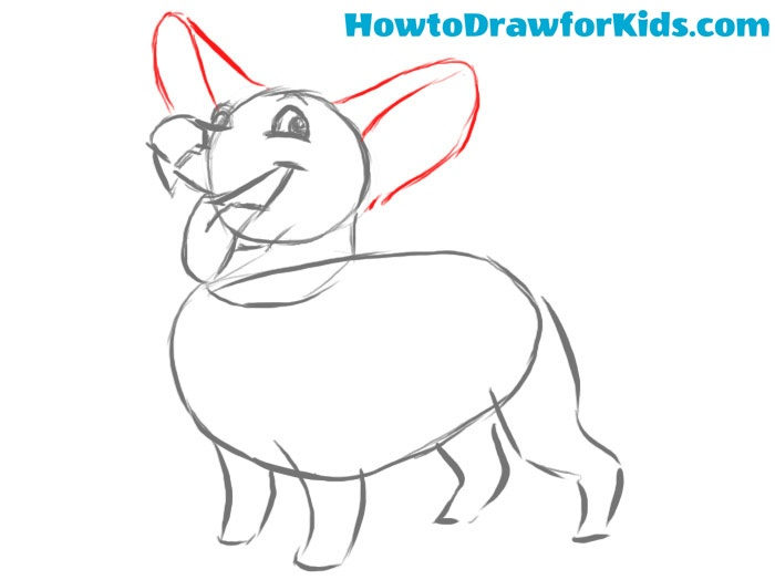 how to draw a dog step by step for beginners