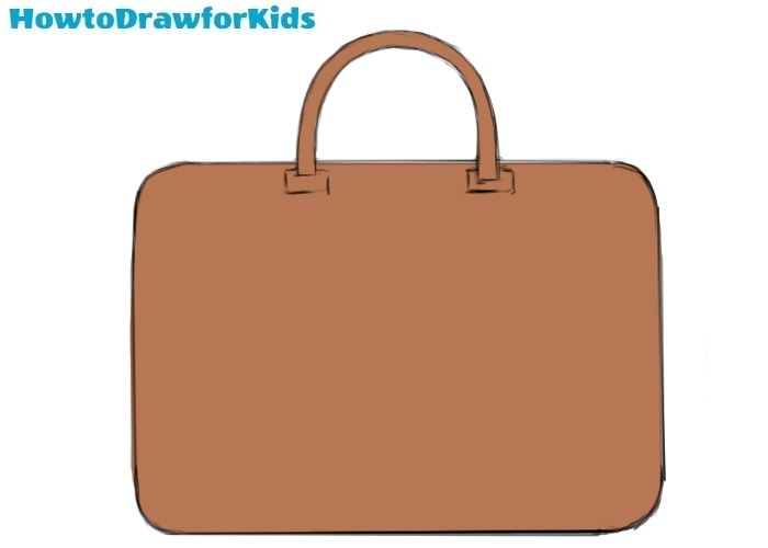 How to Draw a Bag for Kids