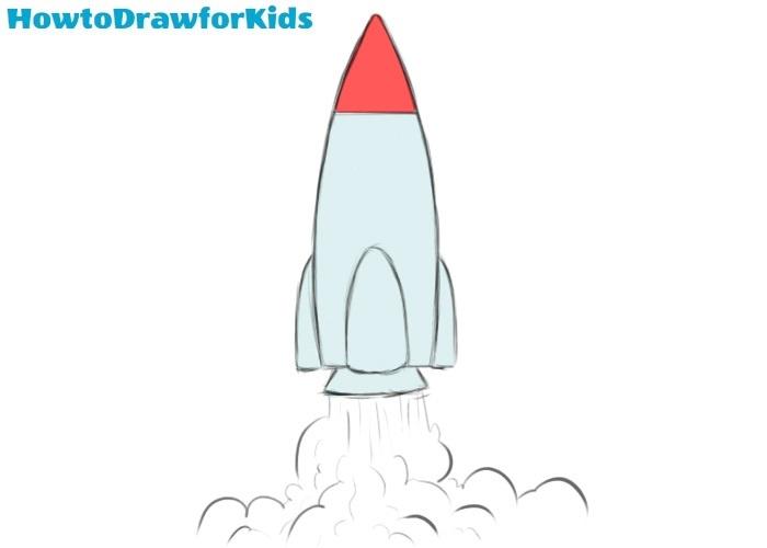 Rocket drawing