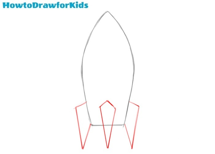 How to draw a spaceship for beginners
