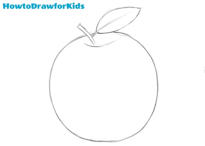 Apple drawing tutorial