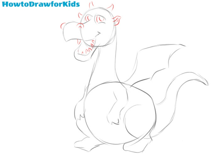 Learn how to draw a dragon