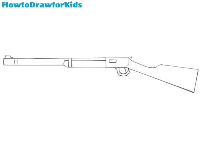 Rifle drawing tutorial