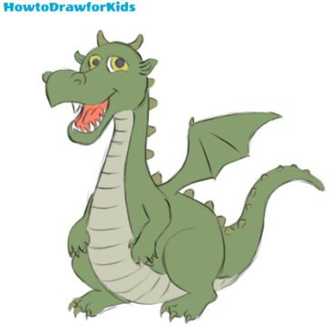 How to Draw a Dragon for Kids