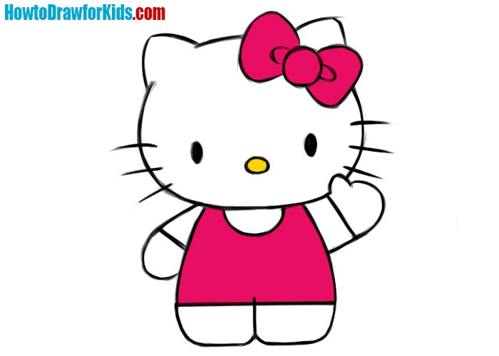 Hello Kitty drawing