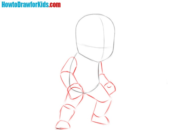 How to draw Wolverine easy