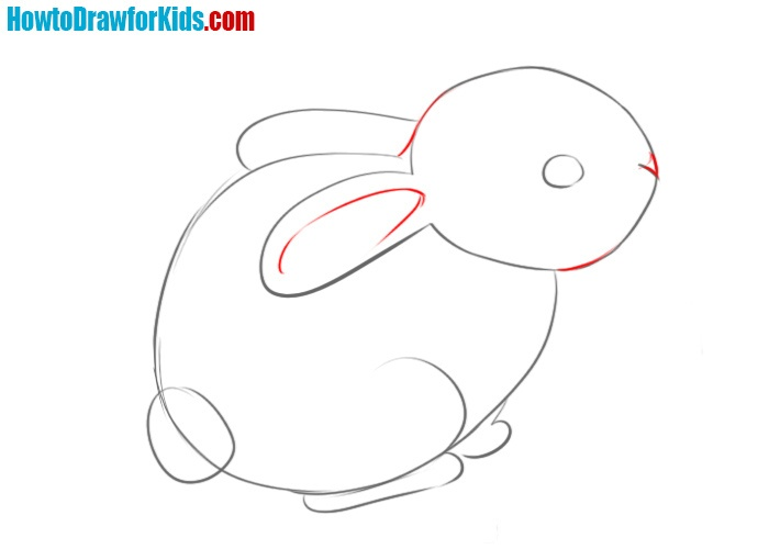 How to draw a rabbit simple